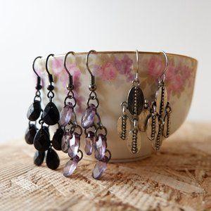 🐝 Boho Earrings Set